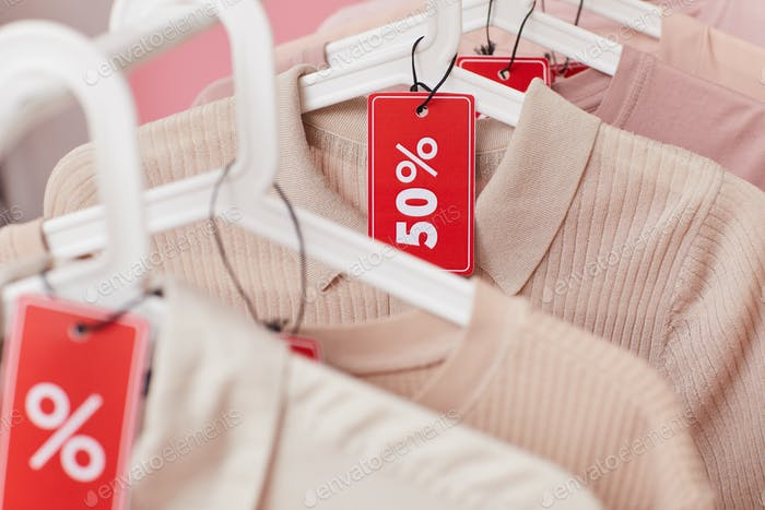Clothes on sale