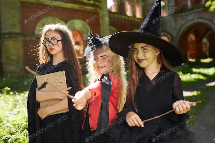 Kids on Halloween Quest