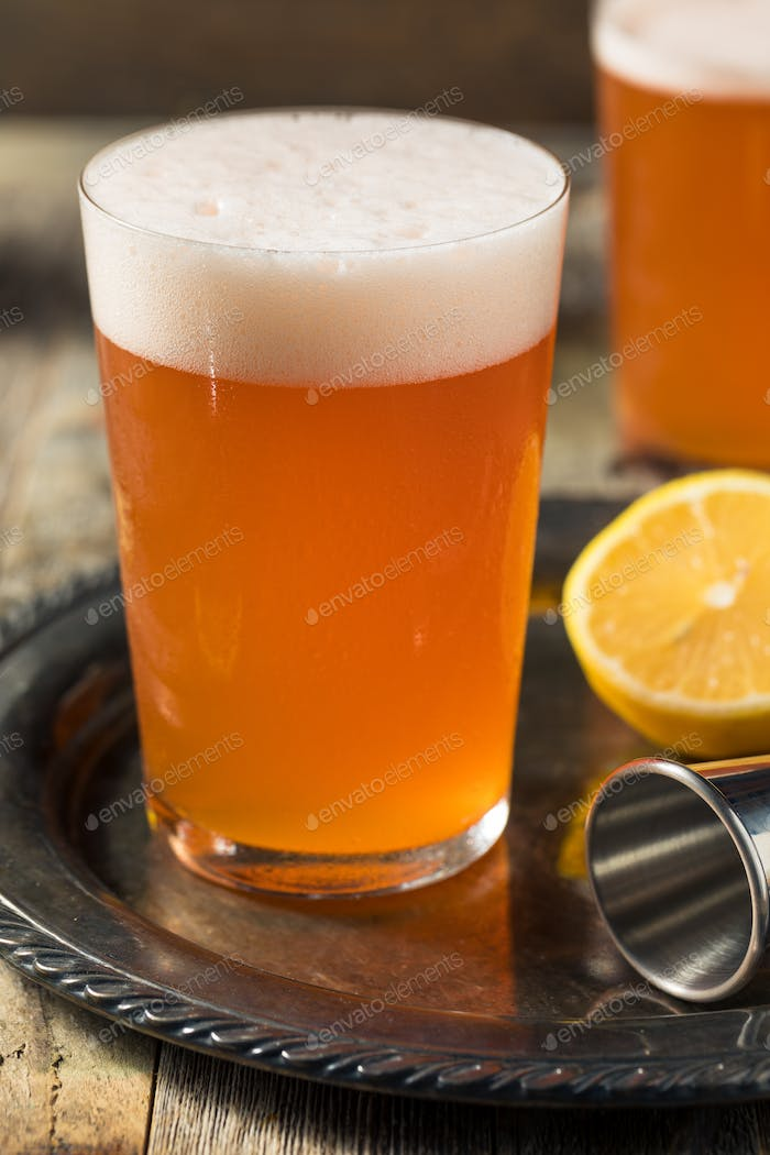 Refreshing Aperol Beer Shandy Cocktail