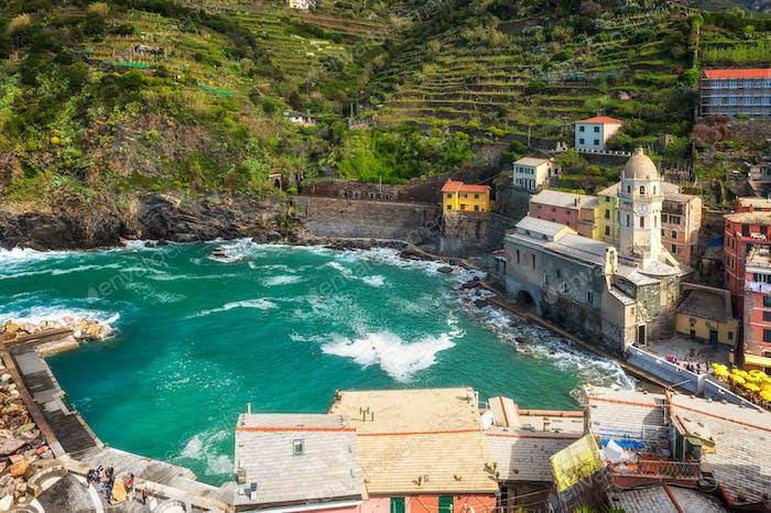 Cinque Terre in Italien
