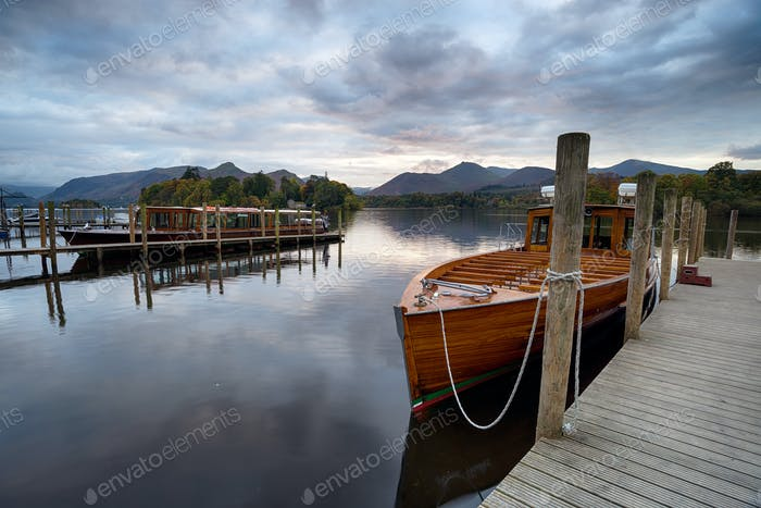 Wooden Boats at Keswick