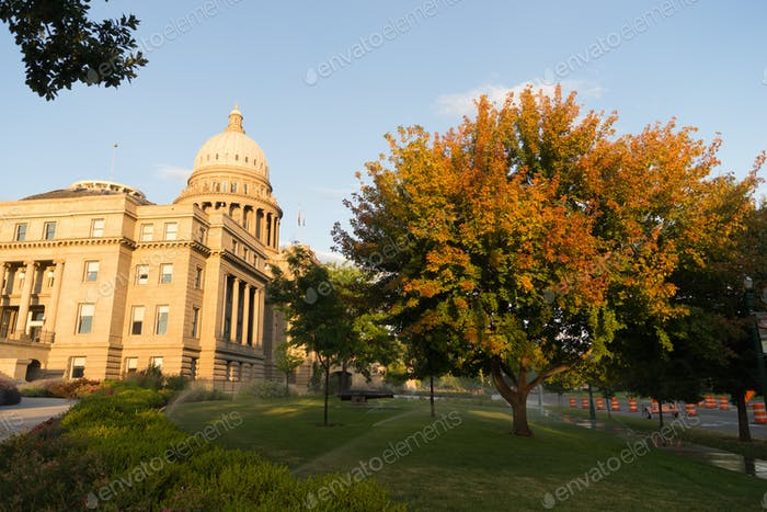 Boise Idaho Capital City Downtown Capitol Building Legislative C