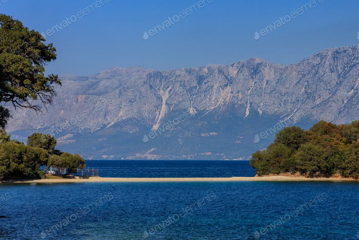 Private Beach, Skorpios. Greece