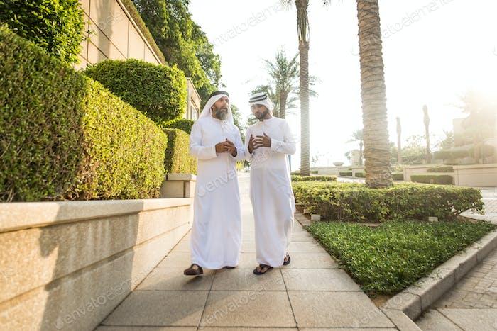 Empresarios en Dubái