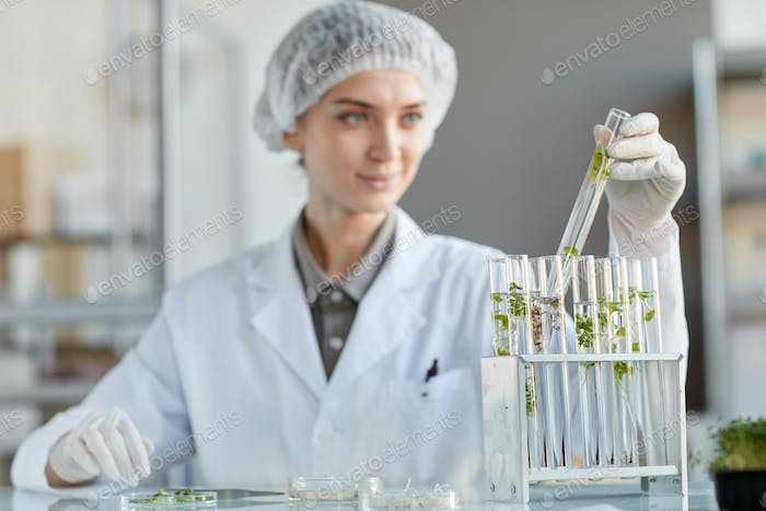 Female Scientist in Bio Laboratory