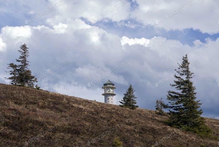 Feldberg mountain in Germany