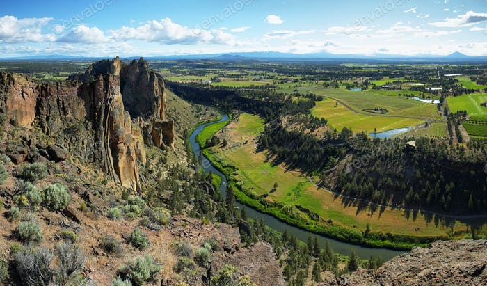 Monkey face, Smith Rock Park