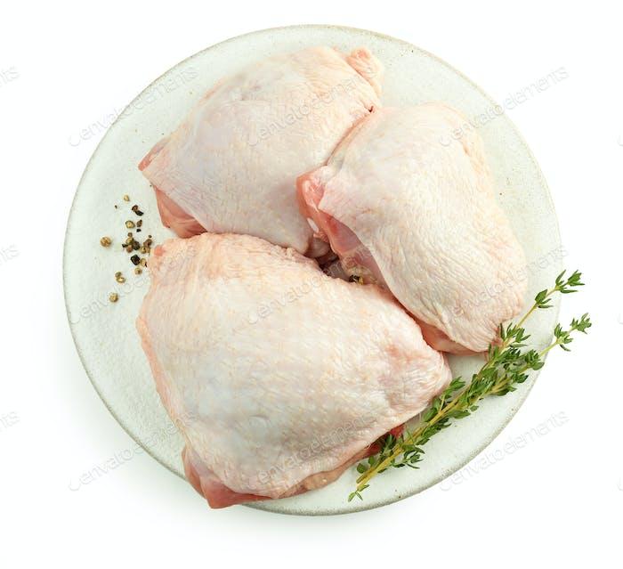 fresh raw chicken meat