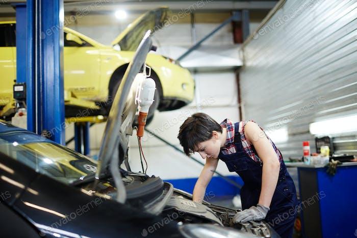 Car upkeep service