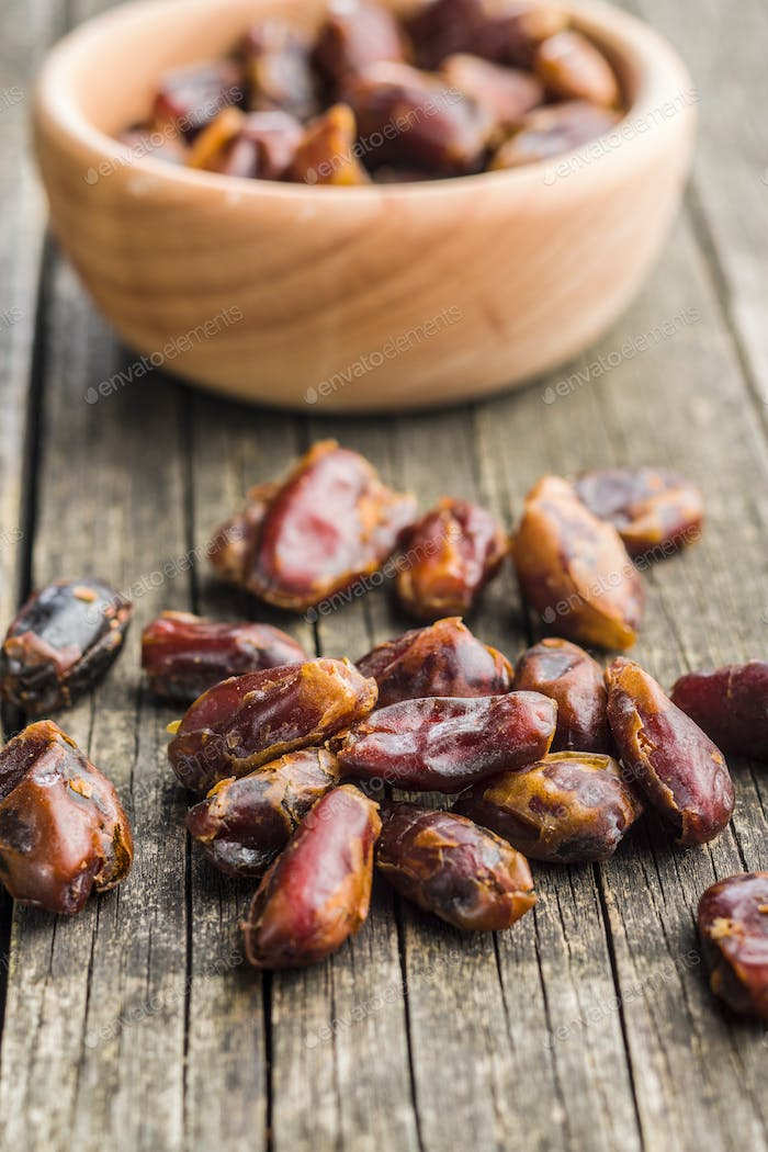Sweet dates without stones.