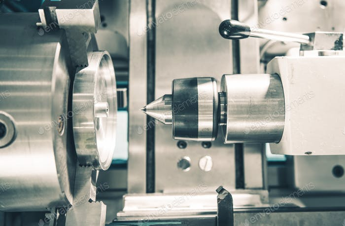 Metal Working Lathe Machine