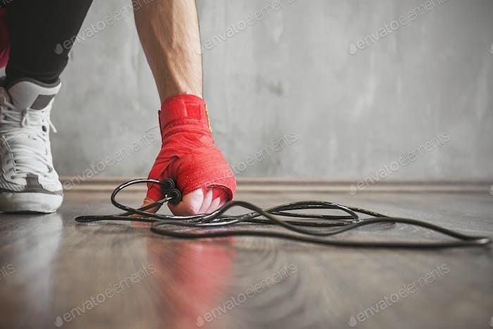 Boxer saltar cuerda de entrenamiento, Concepto de entrenamiento de fuerza