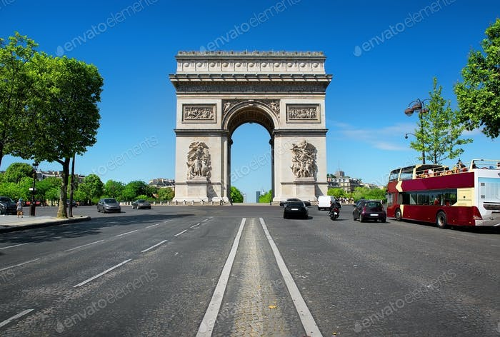 Road to Triumphal Arch