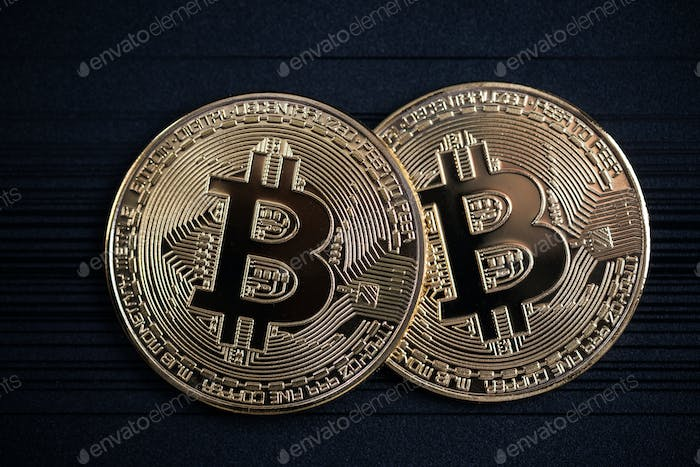 Bitcoin golden coins