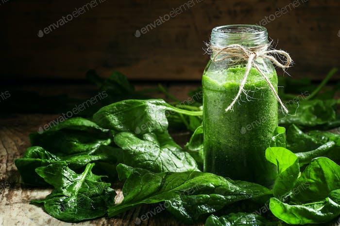 Spinach smoothie