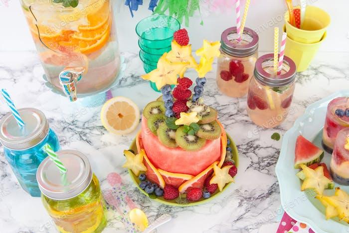 Wassermelonenkuchen