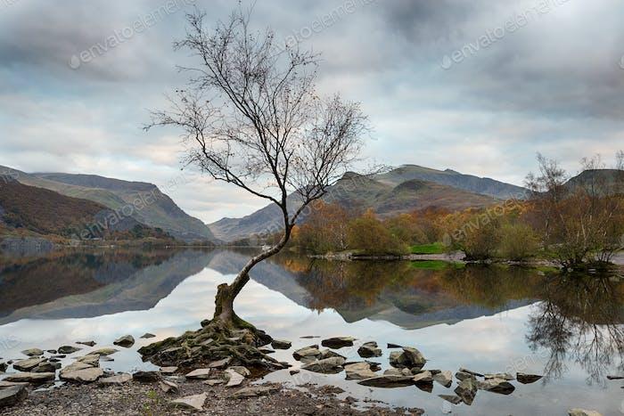 Llyn Padarn in Wales