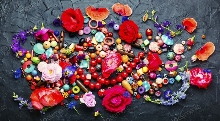 colored beads for bijouterie,jewelry making