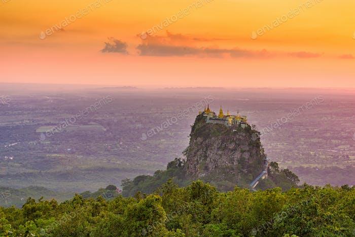 Mt. Popa, Myanmar Monastery
