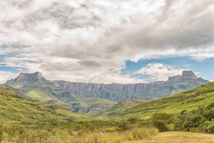Amphitheatre in the Kwazulu-Natal Drakensberg