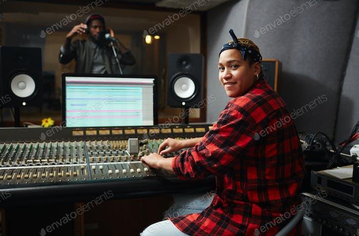 Recording songs