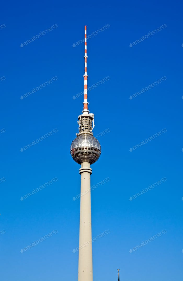 Television tower on Alexanderplatz