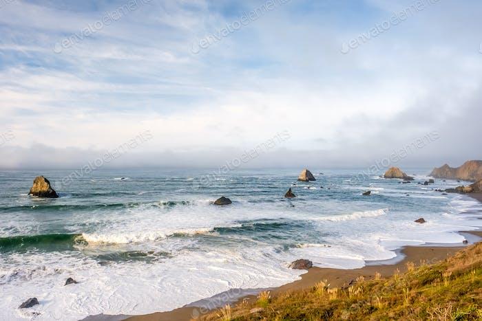 Thumbnail for USA Pacific coast landscape, California