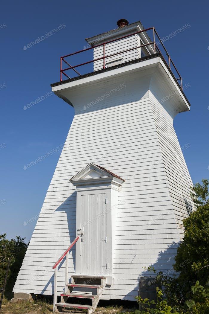 Abbott Harbour Lighthouse in Nova Scotia