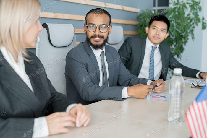International meeting of government representatives
