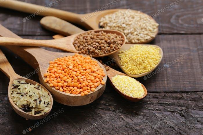 Various Cereals