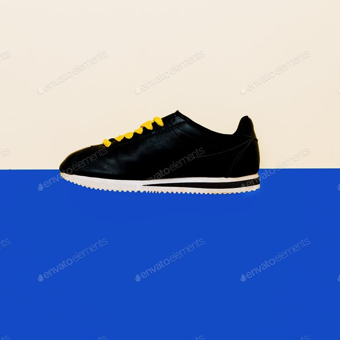 Shoes, Sneakers Minimal Fashion Design