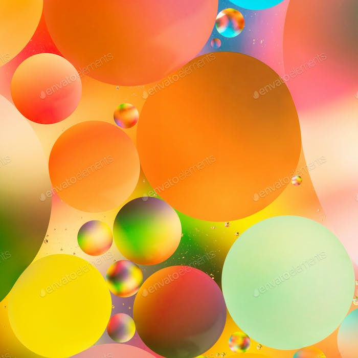 abstract colorful macro background