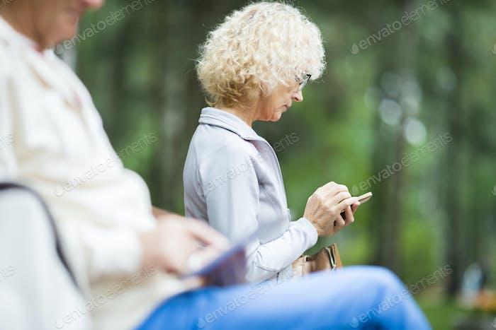 Messaging in park