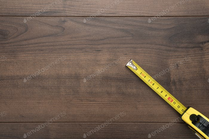 Tape Measure On Table
