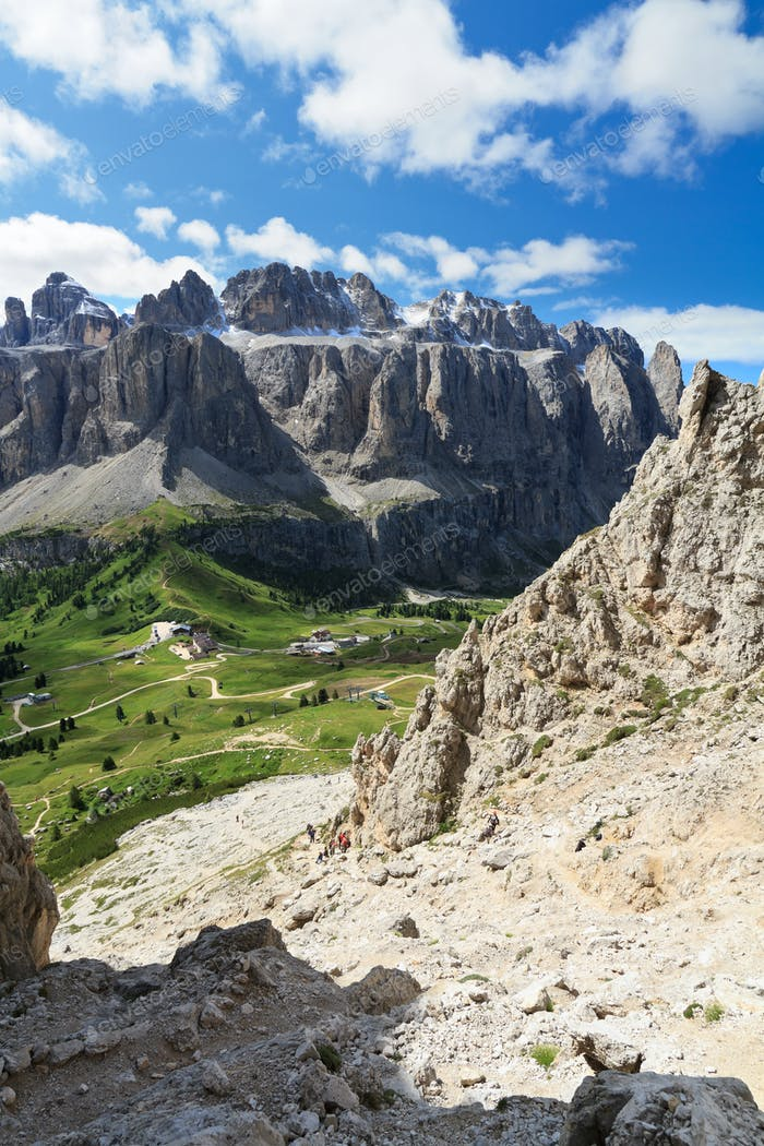 Dolomiti - Sella mount