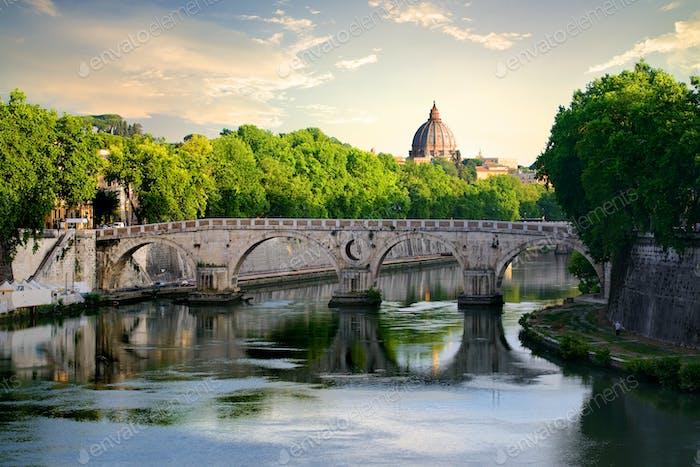 Brücke Sisto in Rom