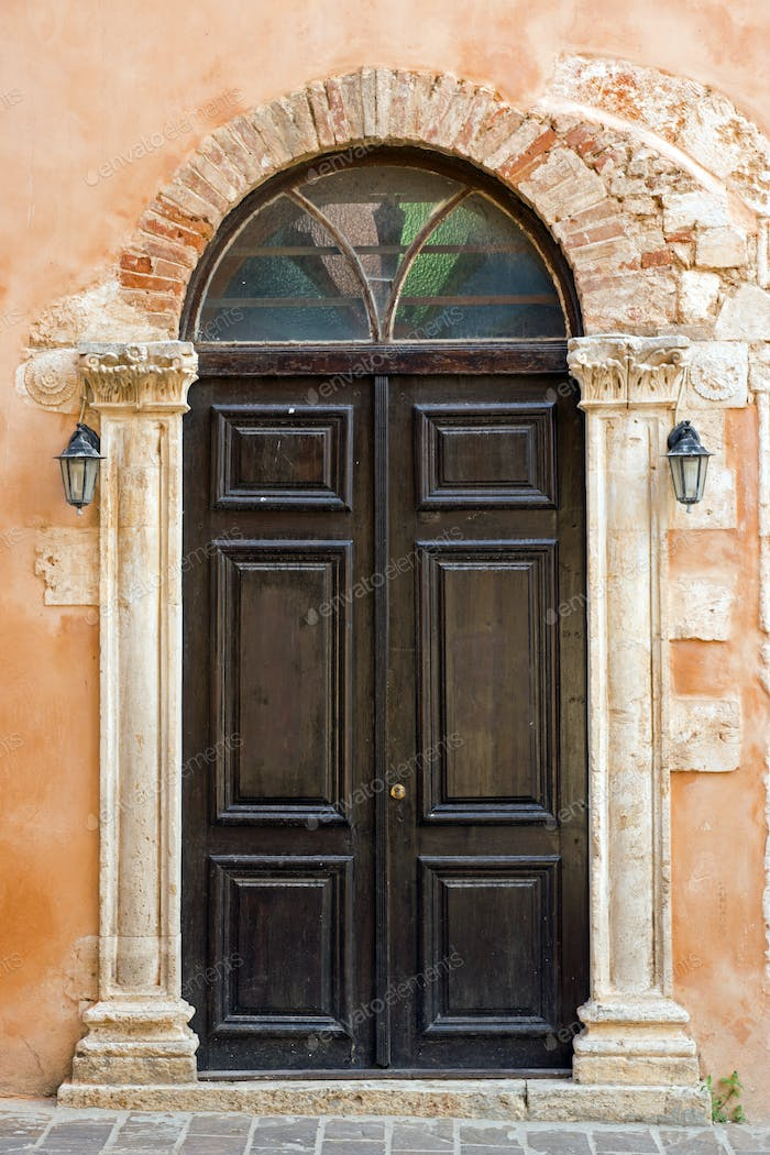 Church door in Chania