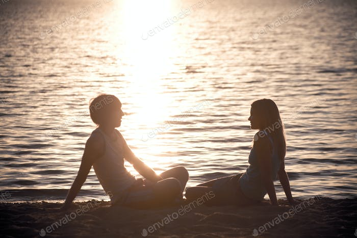 Restful couple