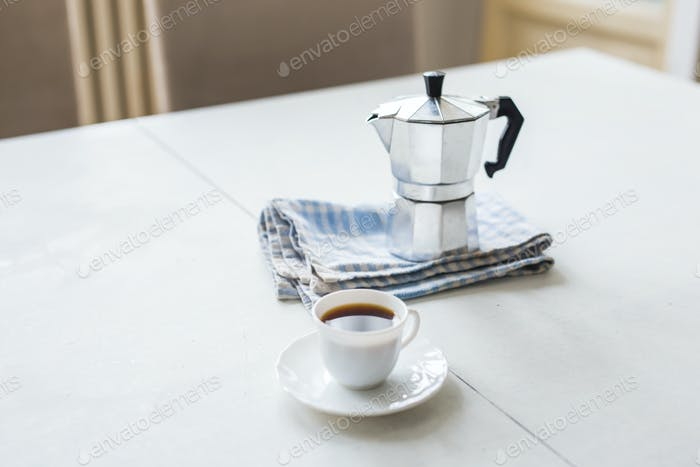 Morning. Pour yourself a cup of coffee and enjoy the coming day