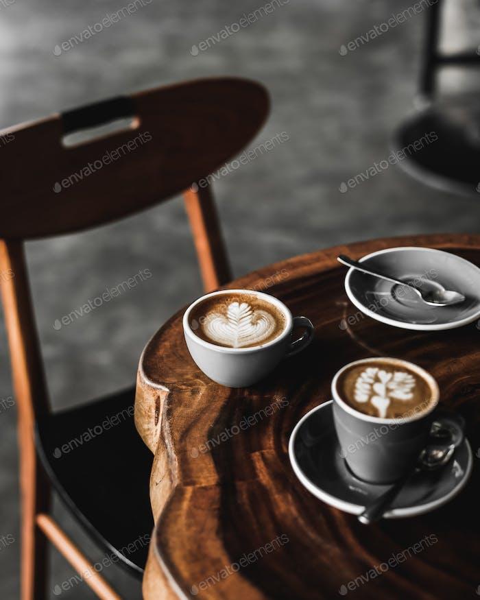 Moody Hot Cappuccino