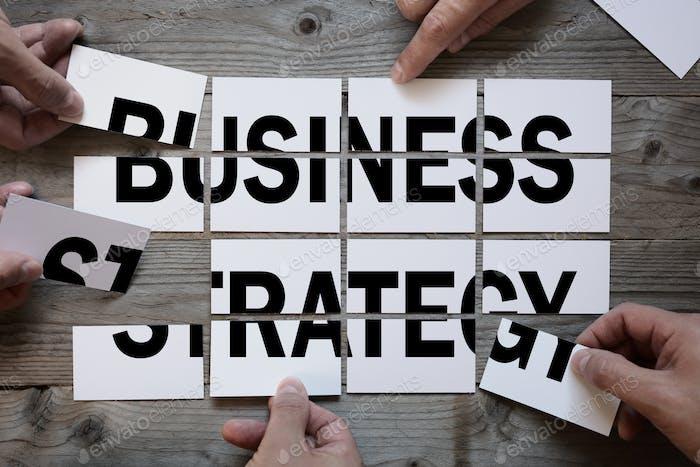 Бизнес-команда, находившая бизнес-стратегию