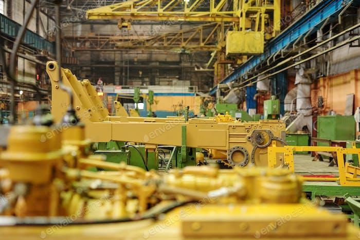 Detail of metal machinery