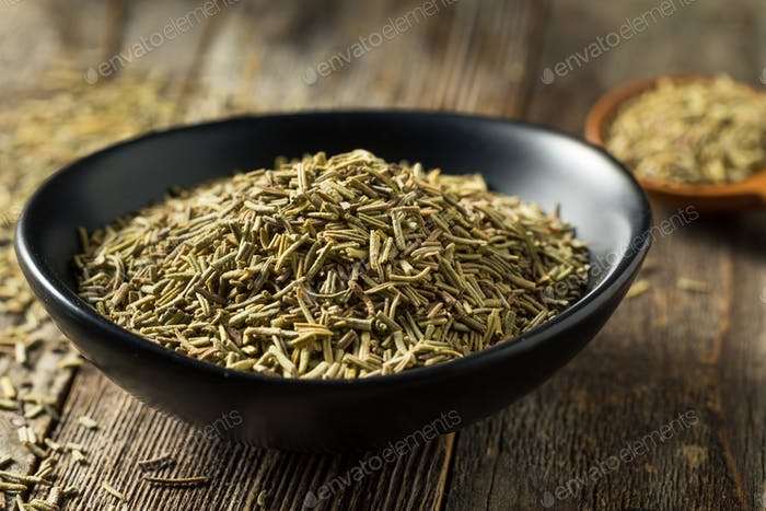 Raw Organic Dried Rosemary Spice