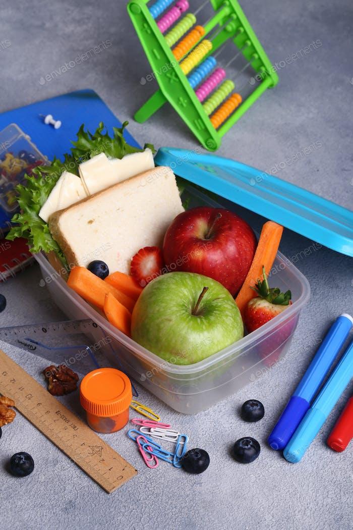 Lunchbox für Schule