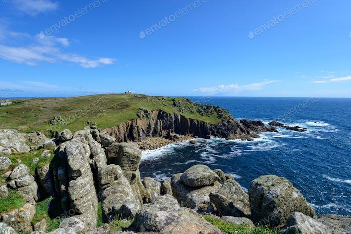 Porth Loe on the Cornwall Coast