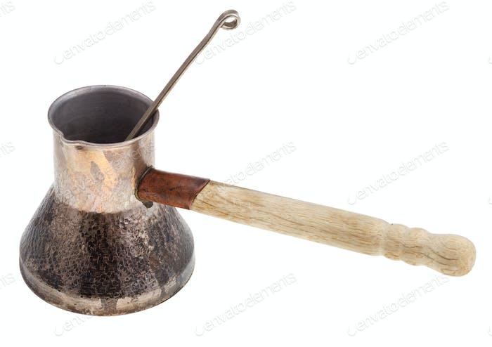 retro copper coffee pot