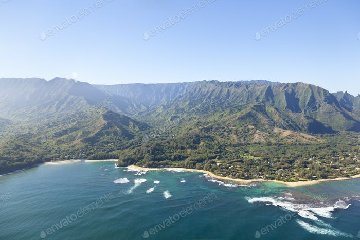 Northern Coastline Beaches, Kauai, Hawaii