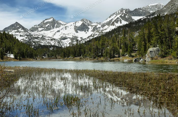 Rewarding views of Marsh lake, California
