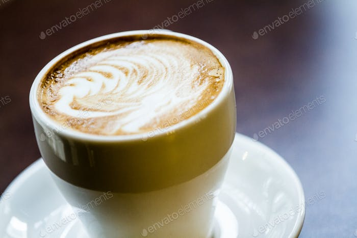 Thumbnail for Latte Coffee on a table