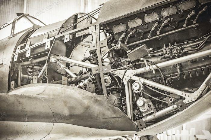 WW2 Kampfflugzeug